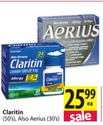 Sorry, no Claritin offers currently available.