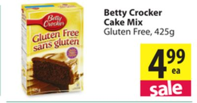 Betty Crocker Gluten Free Blueberry Coffee Cake