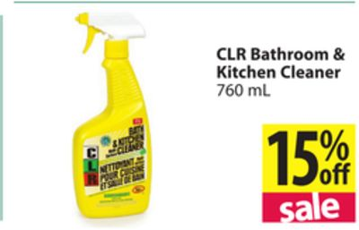 Clr Bathroom Kitchen Cleaner On Sale