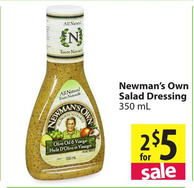 Newman 39 S Own Salad Dressing On Sale