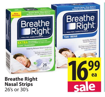 Message simply Cns breathe right strips marketing can