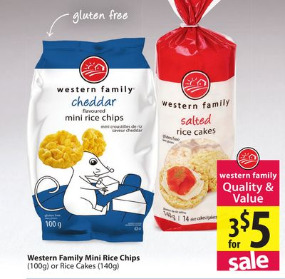 Western Family Mini Rice Chips On Sale Salewhale Ca