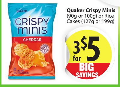 Printable coupon quaker rice cakes