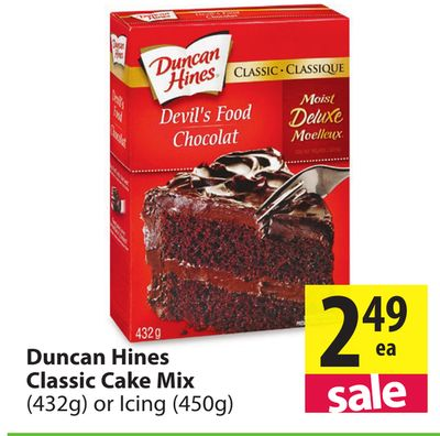 Duncan Hines Classic Cake Mix 432g On Sale Salewhale Ca