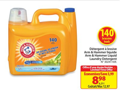 arm and hammer laundry detergent arm amp hammer liquid laundry detergent on salewhale ca 28419