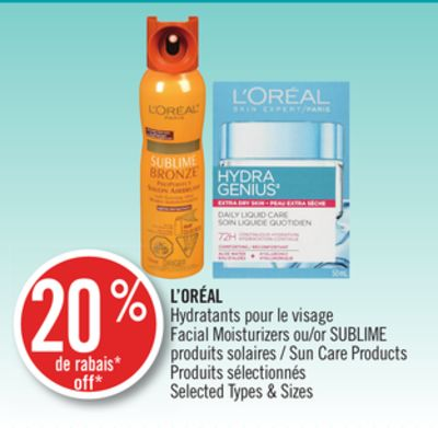 And create loreal facial products Marvel Various