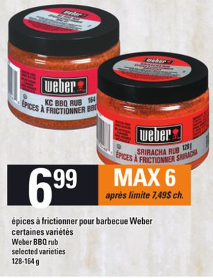 weber bbq rub en solde cette semaine. Black Bedroom Furniture Sets. Home Design Ideas