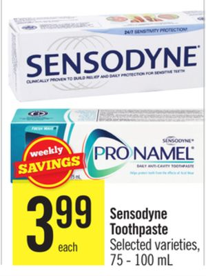 Sensodyne Toothpaste, oz, is a maximum-strength toothpaste with fluoride. Use Sensodyne Extra Whitening With Flouride Toothpaste daily for sensitive teeth relief and cavity prevention. Sensodyne Pronamel Gentle Whitening Toothpaste Twin Pack 4oz each - Exp 03/ $