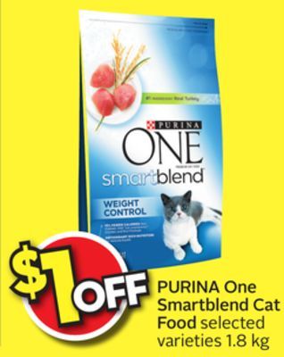 Purina One Cat Food Portions