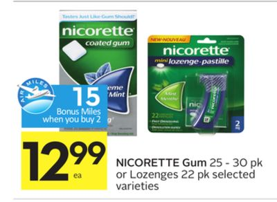 Hurry over to print this New $15 Off Nicorette Gum or Lozenge Coupon. You can use this on Nicorette or NicoDerm CQ. This coupon will definitely come in handy.