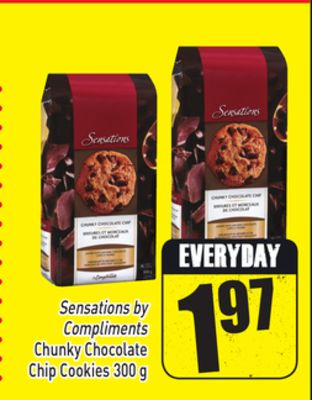 Sensations By Compliments Chunky Chocolate Chip Cookies 300 g