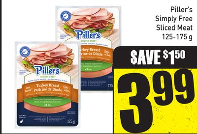 Piller's Simply Free Sliced Meat - 125-175 g