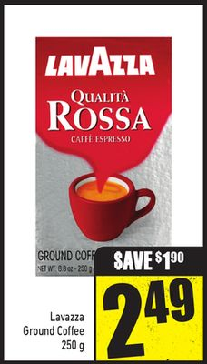 Lavazza Ground Coffee 250 g