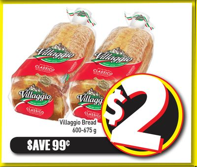 Villaggio Bread 600-675 g