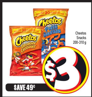Cheetos Snacks 200-310 g