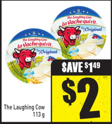 The Laughing Cow 113 g