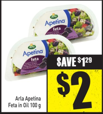 Arla Apetina Feta In Oil 100 g