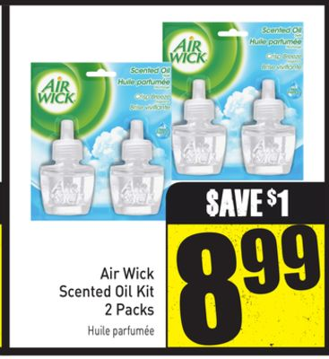 Air Wick Scented Oil Kit 2 Packs
