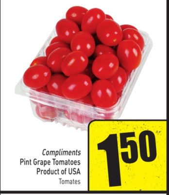 Compliments Pint Grape Tomatoes