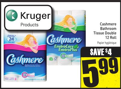 Cashmere Bathroom Tissue Double
