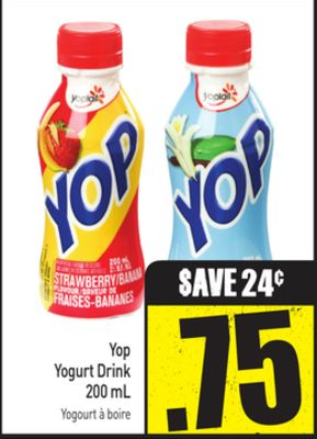 Yop Yogurt Drink 200 mL