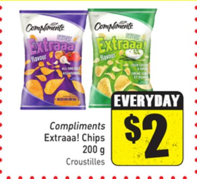 Compliments Extraaa! Chips 200 g