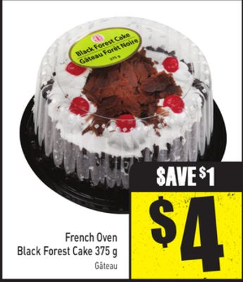 French Oven Black Forest Cake 375 g