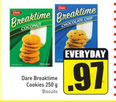 Dare Breaktime Cookies 250 g