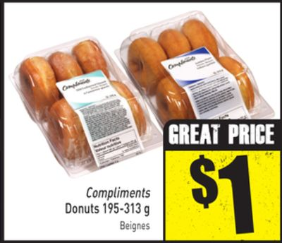 Compliments Donuts 195-313 g