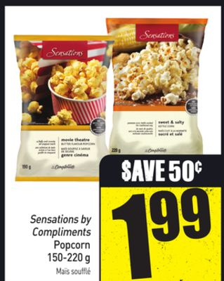 Sensations By Compliments Popcorn 150-220 g