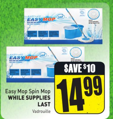 Easy Mop Spin Mop