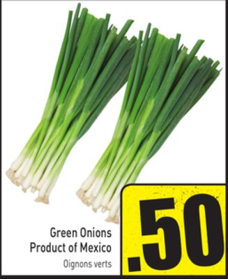 Green Onions Product of Mexico