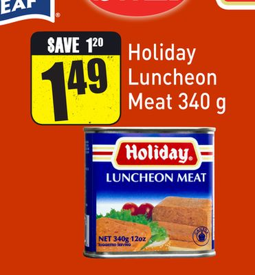 Holiday Luncheon Meat 340 g