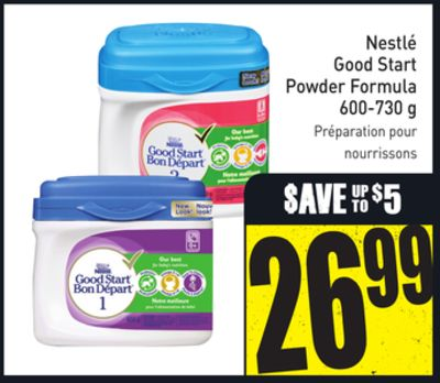 Nestlé Good Start Powder Formula 600-730 g