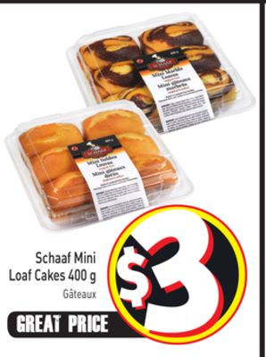 Schaaf Mini Loaf Cakes 400 g