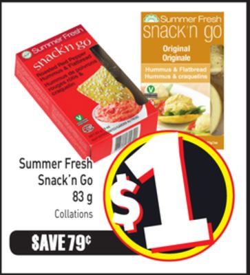 Summer Fresh Snack'n Go 83 g