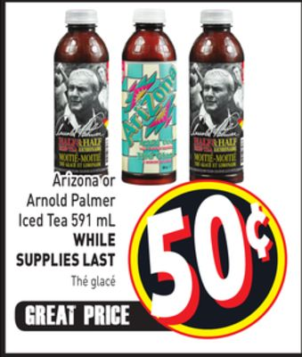 Arizona or Arnold Palmer Iced Tea 591 mL