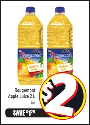 Rougemont Apple Juice 2 L