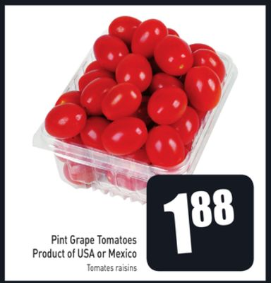 Pint Grape Tomatoes Product of USA or Mexico