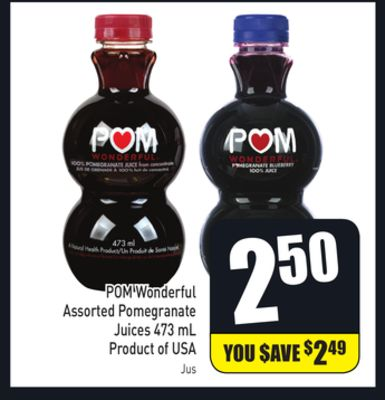 POM Wonderful Assorted Pomegranate Juices 473 mL