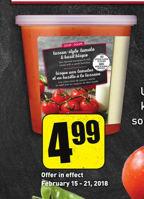 Sensations By Compliments Tuscan-style Tomato & Basil Bisque