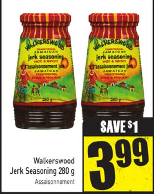 Walkerswood Jerk Seasoning 280 g
