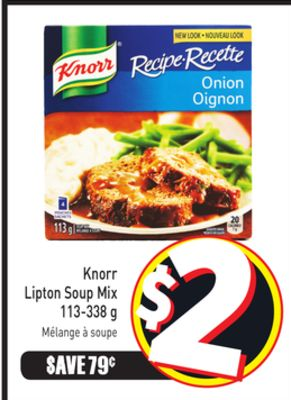 Knorr Lipton Soup Mix 113-338 g
