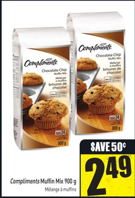 Compliments Muffin Mix 900 g