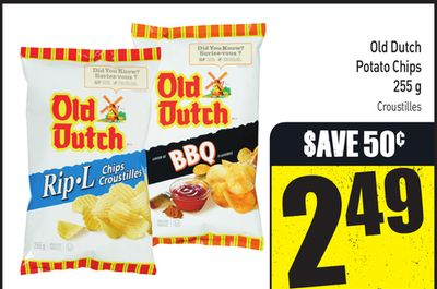 Old Dutch Potato Chips 255 g
