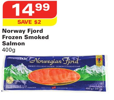 Norway fjord frozen smoked salmon on sale for Can you freeze smoked fish