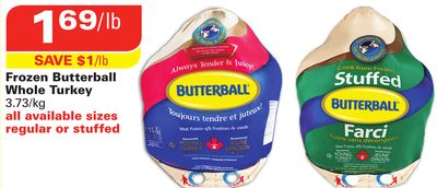 how to cook a frozen butterball turkey