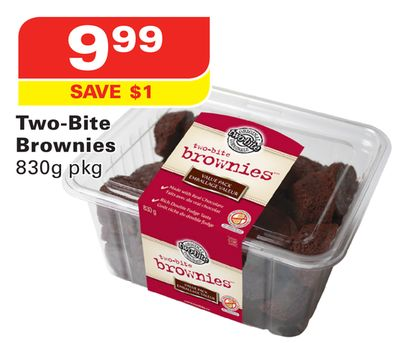 Two-bite Brownies