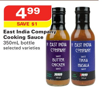 East India Company Cooking Sauce