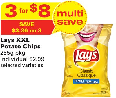 Lays Xxl Potato Chips